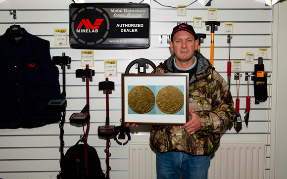 Gary Chappelle finds a Noble with his Minelab Metal Detector
