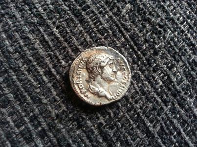 Hadrian Silver Denarius