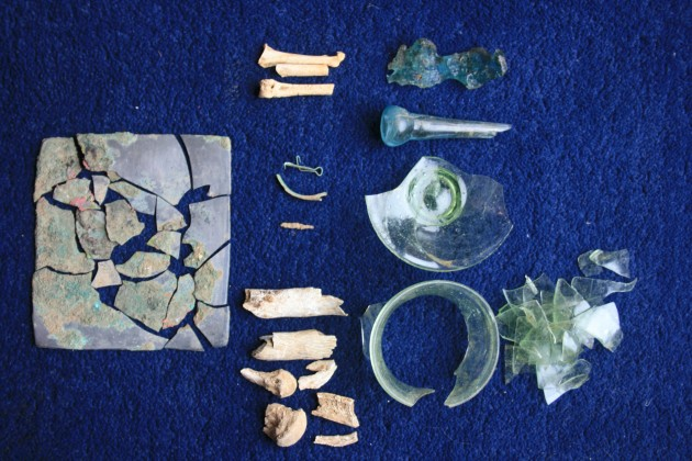 Fragments Found whilst Detecting