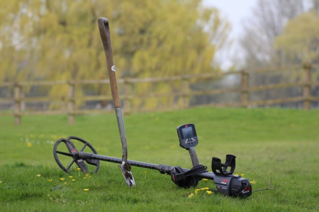 The Minelab CTX 3030 at Rest