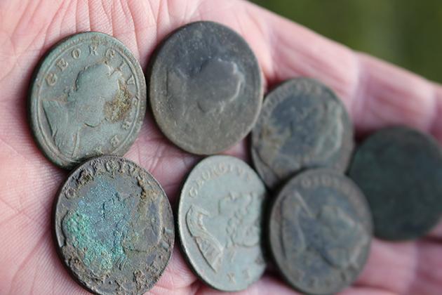 george II coin hoard